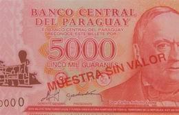 Nuevos billetes de cinco mil guaraníes en polímero