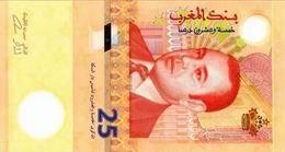 Se imprimen los nuevos 25 dirhams de Marruecos con el innovador sustrato Durasafe®
