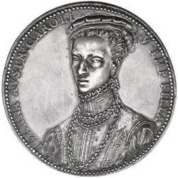 Extraordinaria medalla de Juana de Austria en la Subasta de Jesús Vico