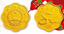 """""""Año de la Serpiente 2013""""en oro"""