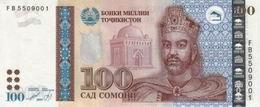 Nuevas medidas de seguridad en los billetes de 20, 50 y 100 somoni deTayikistán