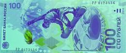 """Billetes de 100 rublos conmemorativos de los XXII JJ.OO. de Invierno """"Sochi 2014"""""""