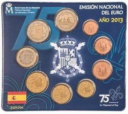 """""""Euroset 2013"""" con la moneda de 2 euros dedicada al Monasterio del Escorial"""