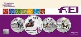 La Federación Ecuestre Internacional FEI en monedas de plata de Andorra
