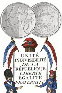 """Liberté, el """"Valor de la República"""" a 5 euros"""