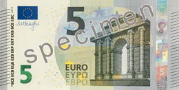 El nuevo billete de 5 euros en circulación