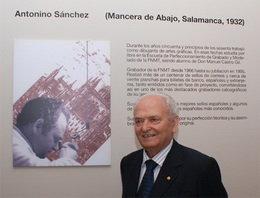 Antonino Sánchez, maestro grabador de la FNMT