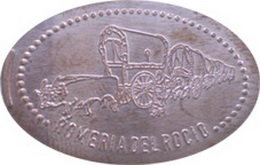 Las monedas elongadas del Rocío