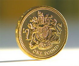 La libra británica de los últimos 30 años