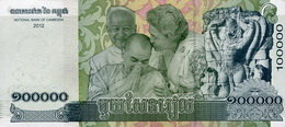 Nuevo billete de 100.000 riels para Camboya