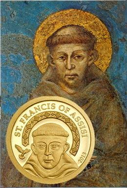 San Francisco de Asís como homenaje al Papa Francisco