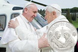 Un hecho histórico: el encuentro de dos Papas