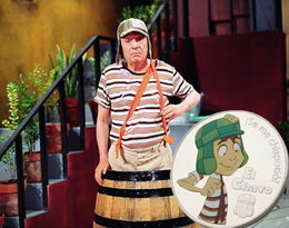 "La popular serie televisiva hispanoamericana ""Chavo del Ocho"" en medallas"
