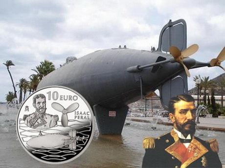 "125 Aniversario del submarino ""Isaac Peral"""