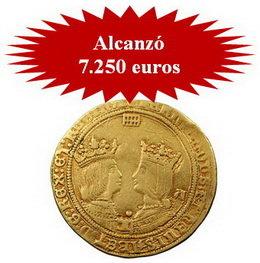 Buenas ventas en la Subasta número 50 de Pliego Numismática y Coleccionismo