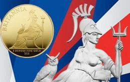 Los bullion Britannia se renuevan en imagen y fino