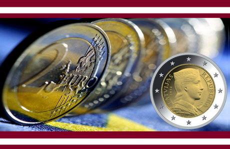 Alemania inicia la acuñación de 400 millones de euro-monedas para Letonia