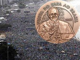 """Más de 3 millones de jóvenes católicos aclaman al Papa durante la """"JMJ 2013"""" de Río de Janeiro"""