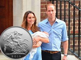 "Un soberano ""San Jorge"" en plata para un futuro soberano Jorge VII"