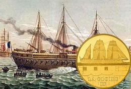 """Los grandes navíos franceses: """"La Glorie"""""""
