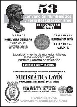 53 Convención Numismática y Feria de Coleccionismo en Bilbao