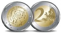 """""""200 Años del Reino"""" en 2 euro de Holanda"""