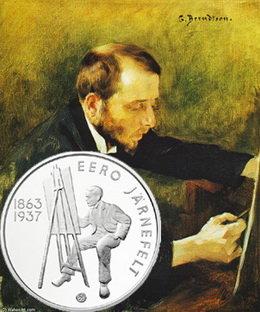 Finlandia rinde homenaje al pintor Eero Järnefelt