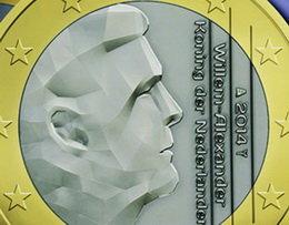 Holanda ofrecerá una nueva imagen en los euros del rey Guillermo Alejandro