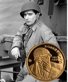 Centenario del fotógrafo de campaña Robert Capa