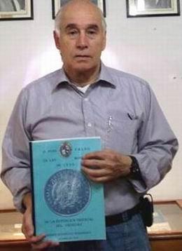 """Ramón Rodríguez Hernández, autor de """"El Peso falso en las monedas de 1895"""""""