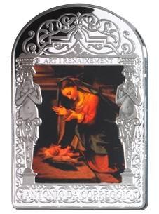 """""""La Adoración del Niño"""", de Corregio"""