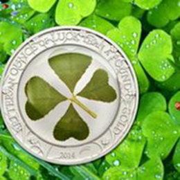 El trébol de cuatro hojas, símbolo de la suerte para 2014