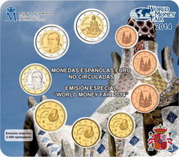 "Euroset español ""Berlín 2014"" para la World Money Fair"