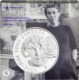 Finlandia recuerda a Tove Jansson con una moneda de 10 euros