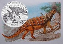 """El Struthiosaurus austriacus del período Cretácico en """"La vida en la tierra"""""""