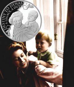 """Alderney emite la Colección """"Isabel II, de princesa a monarca"""""""