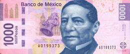 Según una encuesta, los mexicanos quieren a Benito Juárez en los billetes de 1.000 pesos