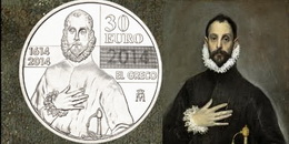 Ya están a la venta los 30 euros del IV Centenario de la muerte de El Greco