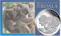 "Bullion ""Koala 2014"" en 1 kg. de plata"