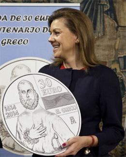 """Presentación de la moneda del IV Centenario de la Muerte de """"El Greco"""""""
