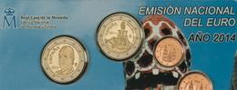 Euroset España 2014 con los 2€ del Parque Güell