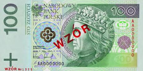 Polonia renueva sus billetes con altas medidas de seguridad