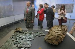 """Inaugurada la exposición sobre el pecio """"Nuestra Señora de las Mercedes"""" en el ARQUA"""