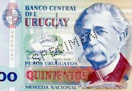 Nuevas medidas de seguridad en los 500 pesos uruguayos