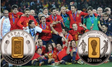 """Copa Mundial FIFA """"Brasil 2014"""": ¿Repetirá España?"""