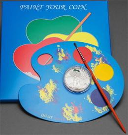 Pinta tu moneda del primer amor