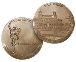 La medalla de honor de la Academia de Francia en Roma-Villa Médici