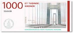 Nuevo billete en Dinamarca