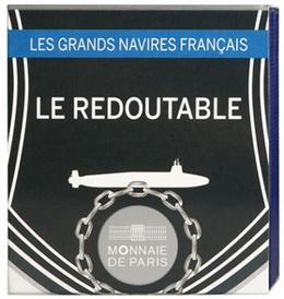 """""""Le Redoutable"""", submarino nuclear francés en oro"""