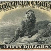 El león del Northern Crown Bank